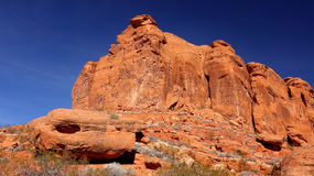 Snow Canyon in St. George, Utah Royalty Free Stock Images
