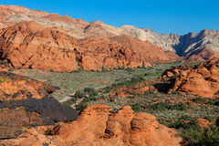 Snow Canyon State Park St. George, Utah Stock Image