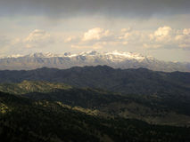 Snow-Capped Afghan Peaks Royalty Free Stock Images