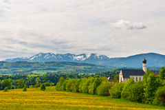 Snow-capped Alps Royalty Free Stock Images