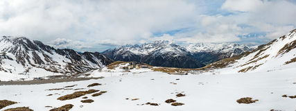 Snow-capped Alps Stock Images