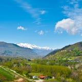 Snow-capped Alps Stock Photos
