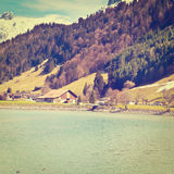 Snow-capped Alps Royalty Free Stock Photography