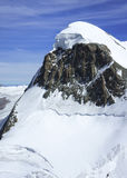 Snow capped Breithorn Royalty Free Stock Image