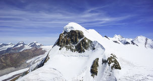 Snow capped Breithorn Stock Images