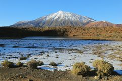 Snow-capped El Teide, Tenerife Stock Photography