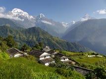 Snow capped Himalaya Stock Image