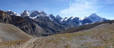 Snow capped Himalaya Royalty Free Stock Image