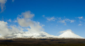Snow capped mountain Royalty Free Stock Photography