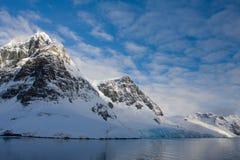 Snow-capped mountains Stock Photos