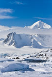 Snow-capped mountains royalty free stock photo
