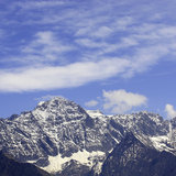 Snow-capped mountains Royalty Free Stock Photography