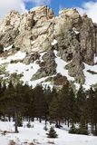 Snow-capped mountains Royalty Free Stock Photos