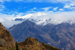 Snow-capped mountains Royalty Free Stock Image