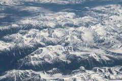 Snow-capped mountains. Stock Photos