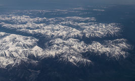 Snow-capped mountains. Stock Images