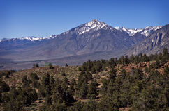 Snow Capped Mountains Vista View Royalty Free Stock Images