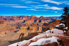Free Snow-Capped Trail In World Famous Grand Canyon National Park, Arizona, United States Stock Photos - 30806693
