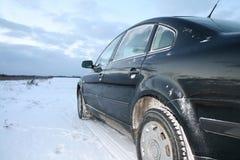 Snow car Royalty Free Stock Photo