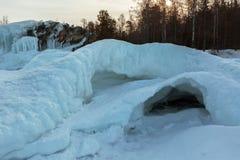 Snow caves of ice. Stock Photo