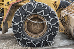Snow chain Royalty Free Stock Image