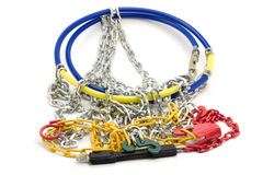 Snow chains Stock Image