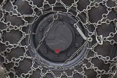 Snow chains Royalty Free Stock Images