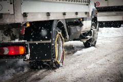 Snow Chains Royalty Free Stock Image