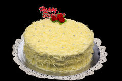 Snow Cheese Cake Royalty Free Stock Photography