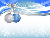 Snow christmas background Royalty Free Stock Photography