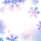 Snow christmas background. Stock Photos