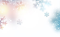 Snow christmas background. Stock Image