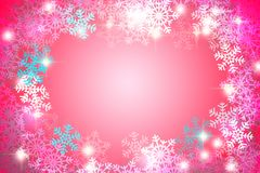 Snow Christmas color abstract background Stock Image