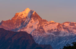 Snow clad Peak in Himalaya Stock Photography
