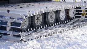 Snow-clearing equipment Stock Photography