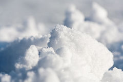 Snow close-up. Stock Images