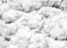Snow closeup Stock Photo