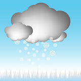 Snow Cloud Stock Photos