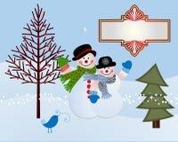 Free Snow Couple  Royalty Free Stock Photos - 35097628