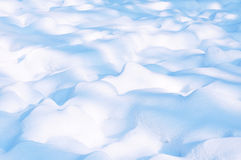 Snow cover. In the sun stock images