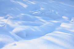 Snow cover Stock Photography