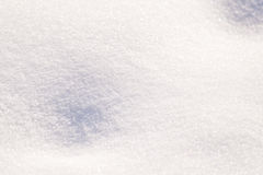 Snow Cover Stock Image