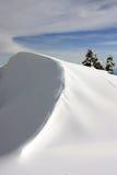 Snow-Covered Berg Ridge Stockbild