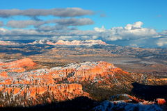 Snow covered Bryce Canyon National Park. Bryce Canyon National Park, Utah, 2014 Winter Royalty Free Stock Photos