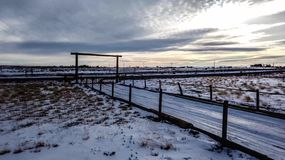 Snow Covered Country Landscape Time Lapse Pan. A time lapse pan of a snow covered country landscape in eastern Colorado stock video footage