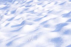Snow-covered ground Royalty Free Stock Images