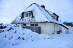 Snow covered House Royalty Free Stock Photo