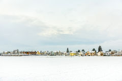 Snow-covered landscape Royalty Free Stock Photography
