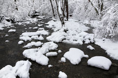 Creek In Winter Stock Photos
