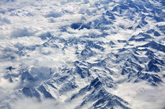 Snow covered montains Royalty Free Stock Images